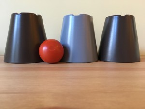 Cups and a ball